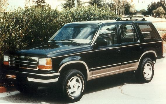 The First Ford Explorer. Story by Derek Elliot Former Ford ...