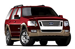 2008 Ford Explorer Features Specifications
