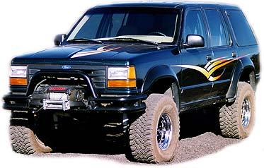 ford explorer 1994 4x4 manual