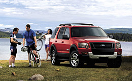 Ironman Ford Explorer 2007 Iron Man Editon Explorer