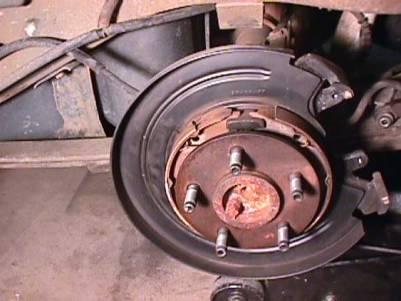 Install The Parking Brake