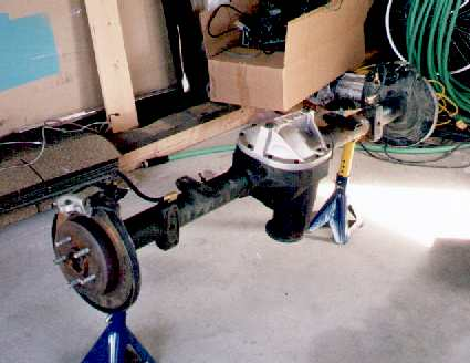 Ford Explorer 8 8 Disc Brake Rear Axle Swap