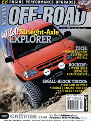 February 2001 Off-Road Magazine Ford Explorer Cover Feature