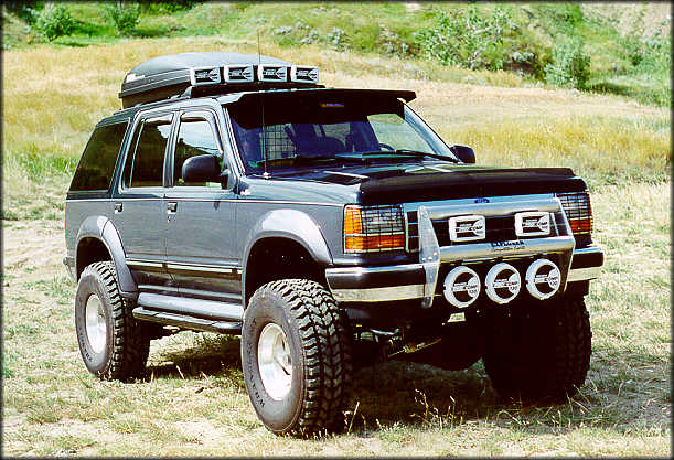 John Squirechuk's 1993 Ford Explorer XLT 4x4