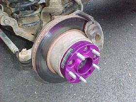 Wheel  Tire on Wheel Spacers Backspacing