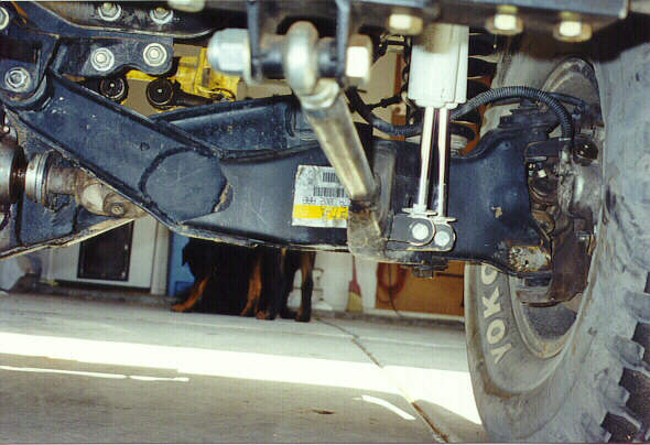 Zimmermans 1993 Ford Explorer 4x4 Cut and Turned Dana 35 TTB Arms
